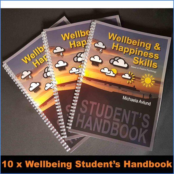 Wellbeing Skills Student's handbook x 10