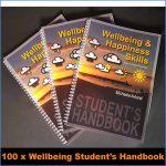 Wellbeing Skills Student's handbook x 100